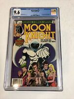 Moon Knight (1980) # 1 (CGC 9.6 OWTWP) | Origin Of MK | 1st App Raoul Bushman