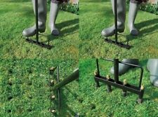 HOLLOW LINE GARDEN GARDENING LAWN AERATOR TINE FOR PLANT GROWTH 4 PRONG