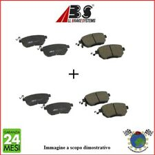 Kit Pastiglie freno Ant e Post Abs HONDA CIVIC VI CRX III CIVIC V