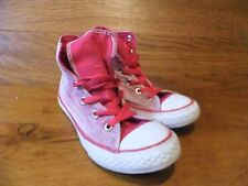 Niñas Converse CT All Star Rosa Tie Dye Lona Hi Top de Superdry Size UK 1 EUR 30