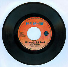 Philippines CLIFF RICHARD It's All In The Game 45 rpm Record