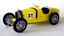 wonderful modelcar BUGATTI  TYPE 35B JAUNE  #31 1925 - yellow - scale 1/43