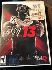 WWE '13  (Nintendo Wii) Complete