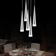 Contemporary Acrylic LED 5Lights Pendant Lighting Chandelier Hanging Lamp Dining