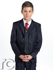 Boys Navy Suit, Boys Communion Suit, Chalice Tie, First Communion, 5-14 years