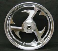 "BAYONET 18"" 200mm REAR BILLET WHEEL 18 X 5.5"" SOFTAIL RIGID CHOPPER CUSTOM"