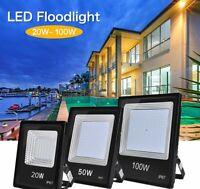 20/30/50/100W LED Flood Light Outdoor Garden Yard Wall Lamp IP67 Waterproof