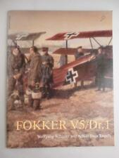 Vtg Fokker V5/Dr.1 Wolfgang Schuster Achim Sven Engels Military History Airplane