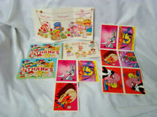 Vintage Strawberry Shortcake Postcards Looney Tunes Bugs Bunny Valentines Tweety