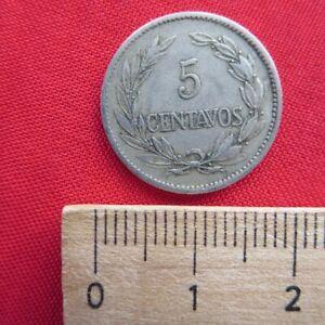 Republica Del Ecuador - 5 Centavos 1919