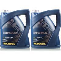 10L Original MANNOL Universal 15W-40 API SG/CD Öl Motoröl MN7405-5