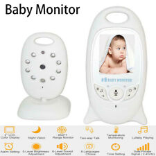 "2.4Ghz Wireless 2""Baby Monitor Night Vision Vedio Camera Temperature Intercom BS"