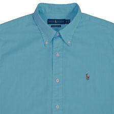 Ralph Lauren Mens Chambray Oxford Shirt Red Blue Green White Lavender Nectarine