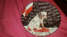 """The Hamilton Collection- """" I will Not Bark in Class""""- plate. perfect condition!"""