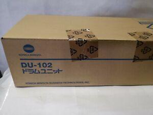 Genuine Konica Minolta DU-102 (A0400Y4) Black / Color Drum Unit