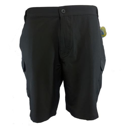 8cf1e87e405da Sell Cargo Black Polyester Shorts for Men   eBay