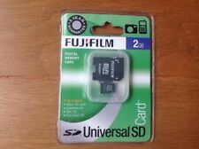 Fujifilm Memory Card 2gb Micro Sd + Full Size Sd Adapter BRAND NEW