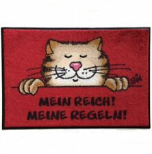 Waschbare Fußmatte ©Uli Stein Katze Mein Reich! Meine Regeln! 40x60 cm wash+dry