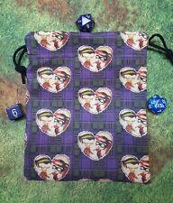 Harley Quinn and The Joker dice bag