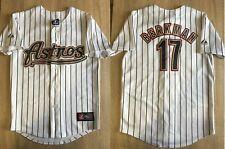 Huston Astros #17 Berkman Boys M Baseball Majestic shirt jersey trikot jacket