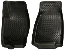Husky Liners Classic-Front Mats-30611 -2006-2010 Jeep Commander/Grand Cher-Black