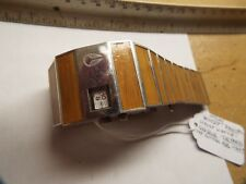 Nixon Rotolog Wood Brown  Butterfly Clasp Watch/ Runs GREAT