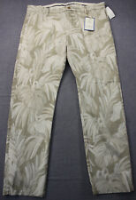 DOCKERS Mens Jungle Floral Slim Tapered The Clean Khaki Chino Pants NWT 38 x 32