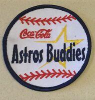 """Vintage """"Coca Cola Astros Buddies"""" Patch"""