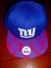 New York Giants Hat NFL Adjustable Embroidered Logo Blue Kids Baseball Cap