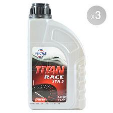 Fuchs Titan Race SYN 5 75W-90 Fully Synthetic Gear Oil 3 x 1 Litre 3 L