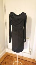 Dark grey Magaschoni dress. Size Small