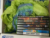 Bundle of 10 Xbox Games Fun Titles Mixed Lot NEXT DAY SHIPPING