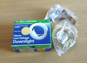 Downlight Low Voltage 12V Brass 35mm Ceiling Light Lighting Down Lighter DIY