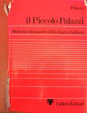 IL PICCOLO PALAZZI - DIZIONARIO LINGUA ITALIANA - FABBRI EDITORE 1980