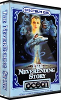 Sinclair ZX Spectrum 128K Game - THE NEVERENDING STORY - Ocean -Tested & Working