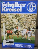 FC Schalke 04 + Schalker Kreisel Magazin 11.04.1981 Bundesliga Hamburger SV /494