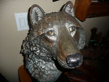 """Legends Mixed Media Nakona """"The Wanderer"""" by Kitty Cantrell Wolfs Head Rare!"""