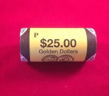 2006-P US Sacajawea Mint Wrapped Dollar Roll Of 25. Gem BU.