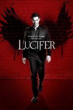 "016 Lucifer - Tom Ellis Fallen Angel Season 1 2 3 USA TV Show 24""x35"" Poster"