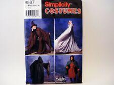 Simplicity 9887 Uncut Costume Pattern Wizard Robe Reaper
