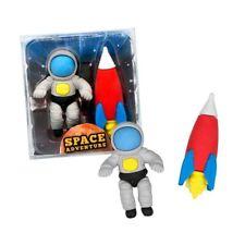 945242 TRENDHAUS Radierer Radiergummi Space Adventure Weltraum Astronaut 2er Set