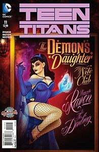 Teen Titans # 11 Bombshells Variant Cover NM/MT DC