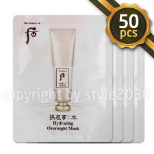 [The history of Whoo] Hydrating Overnight Mask 4ml x 50pcs Sleeping Mask Newest