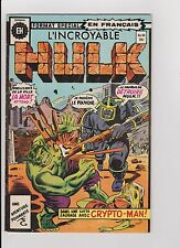 "1976 Marvel Heritage French ""The Incredible Hulk"" Comic Book #64"