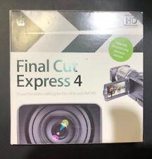Apple Final Cut Express HD 4 - Video Editing for DV HDV AVCHD - Upgrade MB339z/a