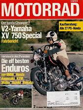 Motorrad 2 1981 CB400A KTM GS250 Maico 440 XT 500 Honda XR 500 R XV 750 Z200