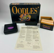 Oodles Board Game Family Card Game 1992 Milton Bradley Complete WORKS