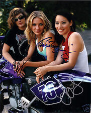 CHARLIES ANGELS LIU BARRYMORE DIAZ AUTOGRAPH SIGNED PP PHOTO POSTER