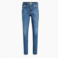 Levis High Rise Skinny 721 Jeans Mid Wash Blue BNWT