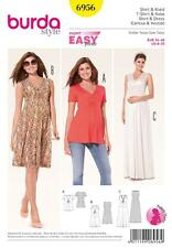 BURDA SEWING PATTERN LADIES MATERNITY DRESS SHIRT 8 - 20  6956